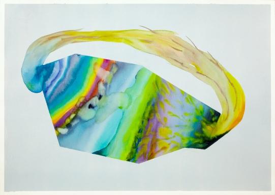 Isabella Nazzarri, Sistema Innaturale #47, 2016, 50x70cm, watercolor on paper