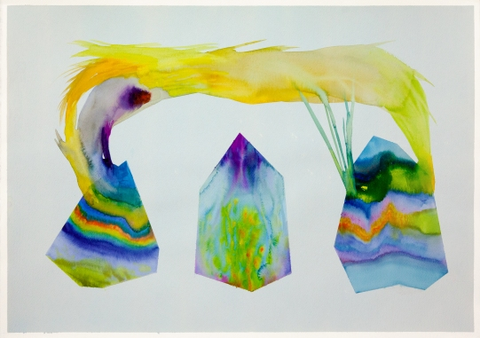 Isabella Nazzarri, Sistema Innaturale #48, 2016, 50x70cm, watercolor on paper
