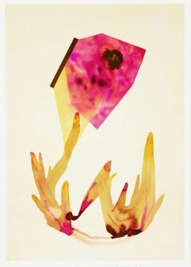 Sistema Innaturale 10, acquerello su carta, 70x50 cm, 2015