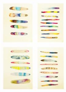 Sistema Innaturale 5, acquerello su carta, 70x50 cm, 2016