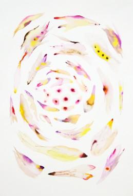 Sistema Innaturale - Genesi_acquarello su carta 50x70 cm 2016