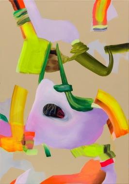 Isabella Nazzarri, Tutti frutti, 2017, 100x70 cm, acrilico e olio su tela