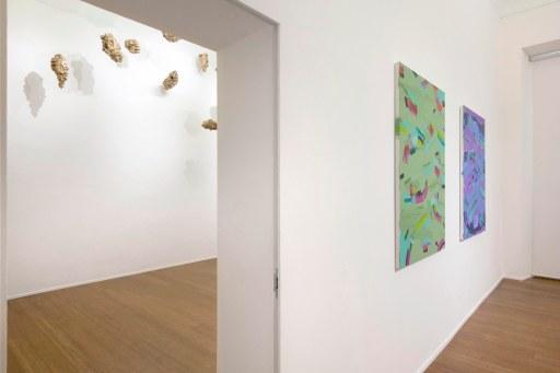 06. Isabella Nazzarri, Clinamen, 2017, installation view, ABC-Arte, Genoa